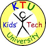 Kids' tech u logo thickerborder